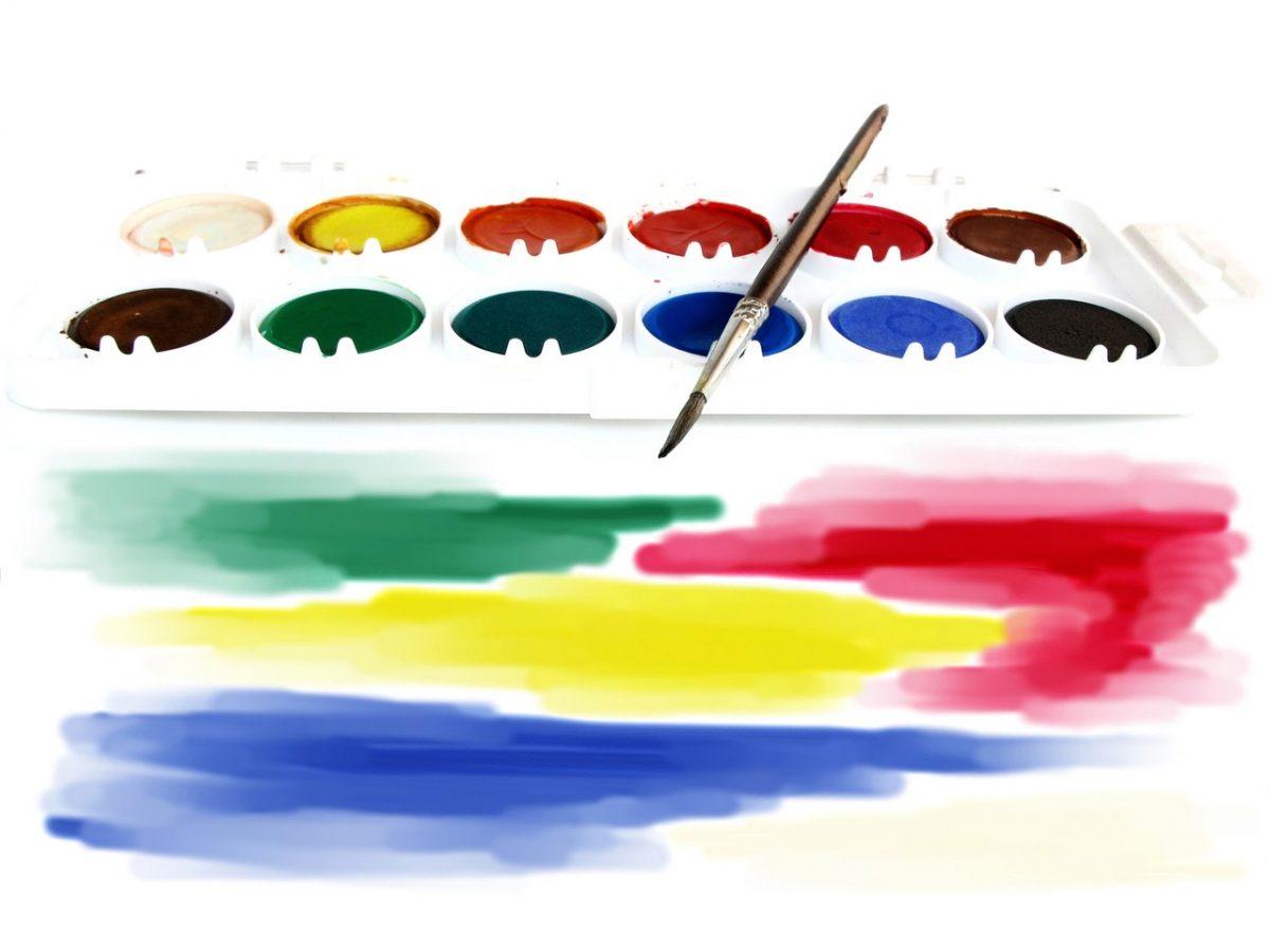 Technika malowania na szkle